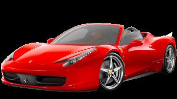 Ferrari 458 Spider / Convertible / 2 doors / 2011-2012 / Front-left view