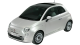 Fiat 500 / Hatchback / 3 doors / 2007-2012 / Front-left view