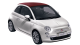 Fiat 500C / Hatchback / 2 doors / 2010-2012 / Front-left view