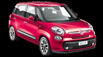 Fiat 500L / Minivan / 5 doors / 2012-2012 / Front-right view