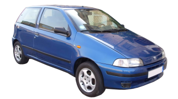Fiat Punto / Hatchback / 3 doors / 1994-2003 / Front-right view