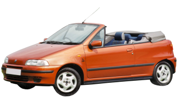 Fiat Punto Cabrio / Convertible / 2 doors / 1994-2000 / Front-left view