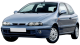 Fiat Bravo / Hatchback / 3 doors / 1995-2001 / Front-left view