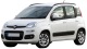 Fiat Panda / Hatchback / 5 doors / 2003-2012 / Front-left view
