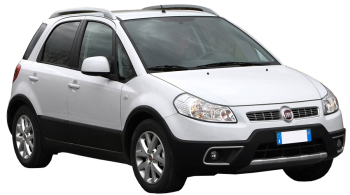 Fiat Sedici / SUV & Crossover / 5 doors / 2007-2012 / Front-right view