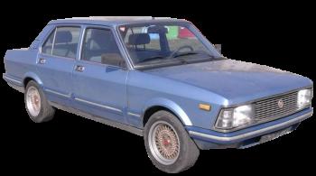 Fiat Argenta / Sedan / 4 doors / 1981-1986 / Front-right view