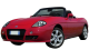 Fiat Barchetta / Convertible / 2 doors / 1995-2005 / Front-left view