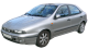 Fiat Brava / Hatchback / 5 doors / 1995-2001 / Front-left view