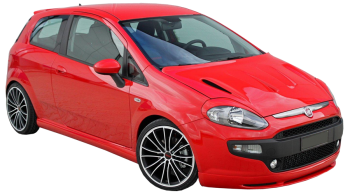 Fiat Grande Punto / Hatchback / 3 doors / 2006-2011 / Front-right view