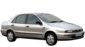 Fiat Marea / Sedan / 4 doors / 1996-2002 / Front-right view