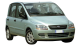 Fiat Multipla / Minivan / 5 doors / 1998-2007 / Front-right view