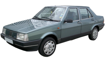 Fiat Regata / Sedan / 4 doors / 1984-1989 / Front-left view