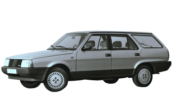 Fiat Regata Weekend / Wagon / 5 doors / 1985-1989 / Front-left view