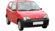Fiat Seicento / Hatchback / 3 doors / 1998-2005 / Front-right view