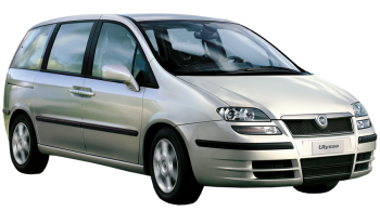 Fiat Ulysse / Minivan / 5 doors / 2002-2007 / Front-right view