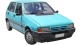 Fiat Uno / Hatchback / 5 doors / 1983-1995 / Front-right view