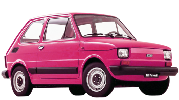 Fiat 126 / Hatchback / 2 doors / 1973-1981 / Front-right view