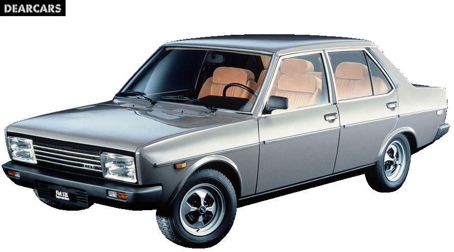 Fiat 131 1600 Tc Supermirafiori Sedan 4 Doors 96