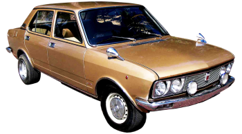 Fiat 132 / Sedan / 4 doors / 1977-1981 / Front-right view