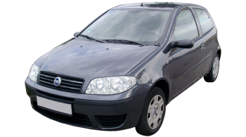 Fiat Punto / Hatchback / 3 doors / 2003-2010 / Front-left view