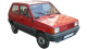 Fiat Panda / Hatchback / 3 doors / 1981-2003 / Front-right view