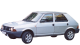 Fiat Ritmo / Hatchback / 5 doors / 1979-1988 / Front-left view