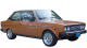 Fiat 131 / Sedan / 2 doors / 1978-1983 / Front-right view