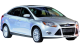 Ford Focus / Sedan / 4 doors / 2010-2012 / Front-right view