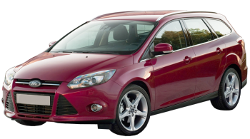 Ford Focus Wagon / Wagon / 5 doors / 2010-2012 / Front-left view