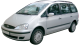 Ford Galaxy / Minivan / 5 doors / 2000-2006 / Front-left view
