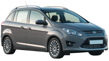Ford Grand C-MAX / Minivan / 5 doors / 2010-2012 / Front-right view