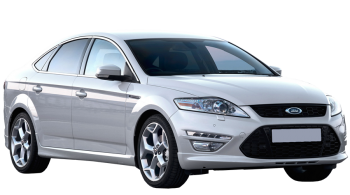 Ford Mondeo / Sedan / 4 doors / 2007-2012 / Front-right view
