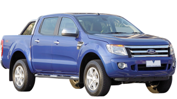 Ford Ranger Double Cab / Pick-up / 4 doors / 2011-2012 / Front-right view