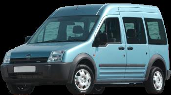 Ford Tourneo Connect / Minivan / 5 doors / 2003-2011 / Front-left view