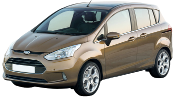 Ford B-MAX / Minivan / 5 doors / 2012-2012 / Front-left view