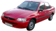 Ford Escort / Sedan / 4 doors / 1995-2000 / Front-left view