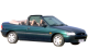 Ford Escort Cabriolet / Convertible / 2 doors / 1995-1998 / Front-right view