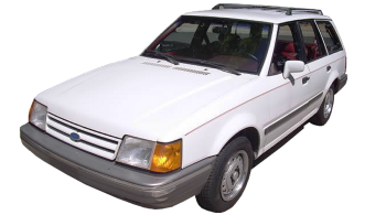 Ford Escort Stationwagon / Wagon / 5 doors / 1980-1990 / Front-left view