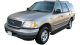 Ford Expedition / SUV & Crossover / 5 doors / 1998-2001 / Front-left view