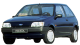 Ford Fiesta Classic / Hatchback / 3 doors / 1995-1996 / Front-left view