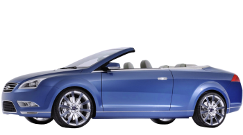 Ford Focus Coupe-Cabriolet / Convertible / 2 doors / 2007-2011 / Front-left view