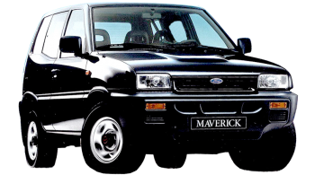 Ford Maverick SWB / SUV & Crossover / 3 doors / 1993-1998 / Front-right view