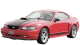 Ford Mustang / Coupe / 2 doors / 1995-2003 / Front-left view