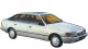 Ford Scorpio / Hatchback / 5 doors / 1985-1994 / Front-right view