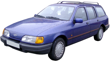 Ford Sierra Stationwagon / Wagon / 5 doors / 1983-1993 / Front-left view