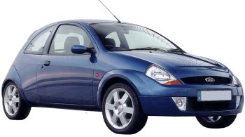 Ford Sportka / Hatchback / 3 doors / 2003-2008 / Front-right view