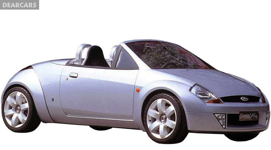 Ford Streetka Convertible   Front Right View