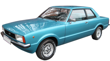 Ford Taunus / Sedan / 2 doors / 1979-1982 / Front-left view