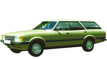 Ford Taunus Stationwagon / Wagon / 5 doors / 1979-1982 / Front-left view