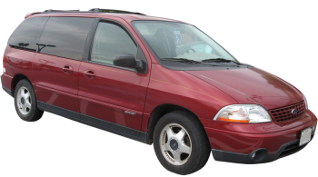 Ford Windstar / Minivan / 5 doors / 2001-2003 / Front-right view